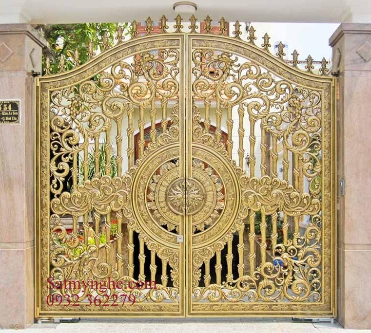 320296546306 - Những mẫu cửa cổng sắt mỹ thuật đẹp nhất-cửa cổng biệt thự