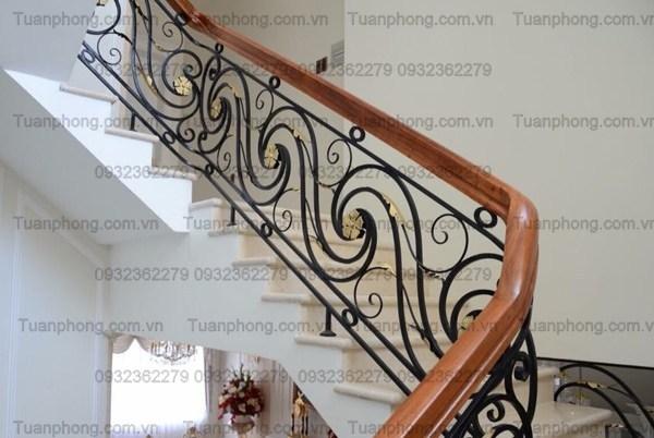 lan can cau thang sat my thuat dep 34 - 100+ mẫu lan can-cầu thang sắt nghệ thuật cổ điển đẹp xuất sắc